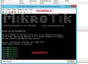 نصب میکروتیک بر روی هایپر وی