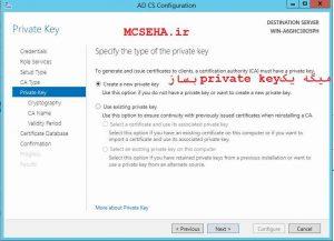 private key  ca