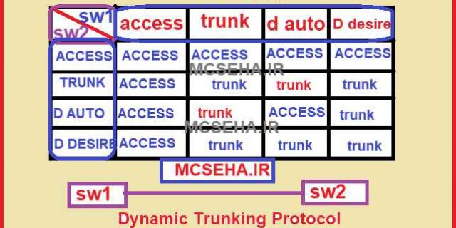 پروتکل DTP در سیسکو چیست