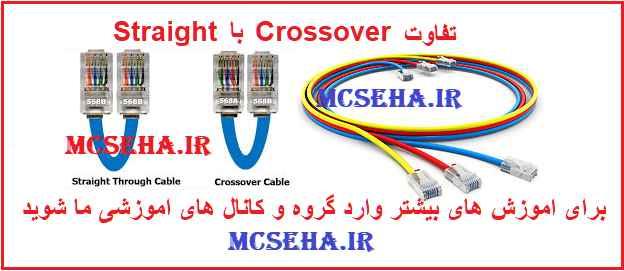 تفاوت کابل شبکه Cross با Straight