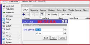 select dns server